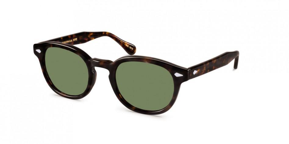 965309b8a8 Referboard - Moscot Lemtosh Round-Frame Tortoiseshell Acetate Sunglasses MOSCOT  LEMTOSH SUN – Tortoise (G15 Lens)